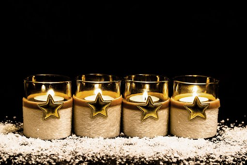aromatyczne świece zapachowe w szkle