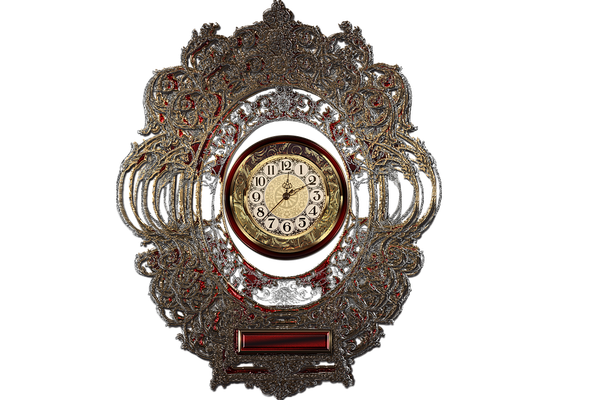 zegary ścienne metalowe