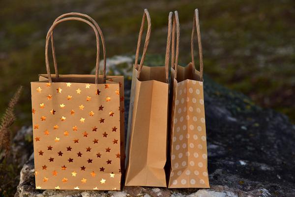 estetyczna torba papierowa z nadrukiem - cena