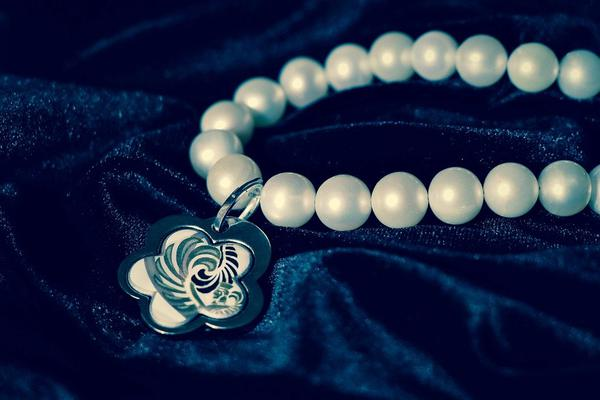 klasyczna bransoletka - perły