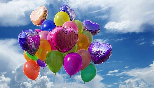 balonowy prezent